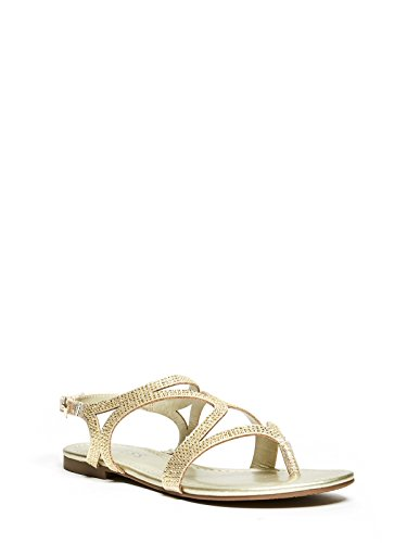 Rhinestone Sandal Footwear Sandals (GUESS Factory Women's jennilee Rhinestone Sandals)