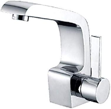 ZJN-JN 蛇口 バスルームのシンクは、スロット付き浴室の洗面台のシンクホットコールドタップミキサー流域の真鍮シンクミキサータップすべての銅流域の蛇口クイックオープン蛇口の洗面台浴室キャビネット蛇口の水パイプをタップ 台付
