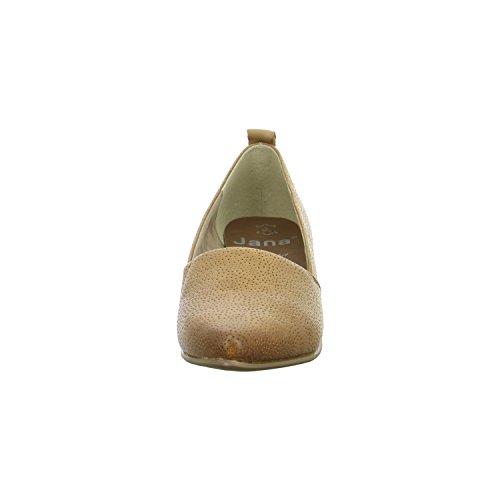 Femmes Escarpîns nut brun, (NUT) 8-8-24306-26-440