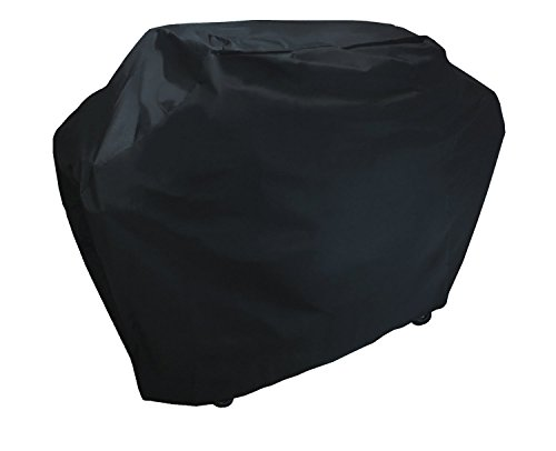 KHOMO Panther Series Waterproof Heavy Duty BBQ Grill Cover, Medium 58 x 24 x 48-Inch, Black
