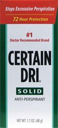Certain Dri Antiperspirant Solid for Excessive Perspiration-1.7 oz