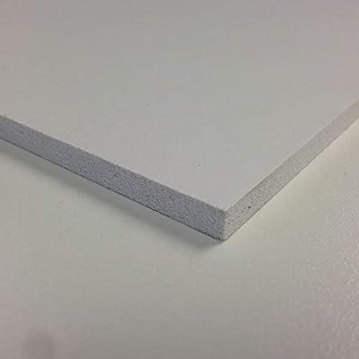 3mm White Matt Foamex Foam PVC Sheet 17 Sizes to Choose 420mm x 297mm // A3