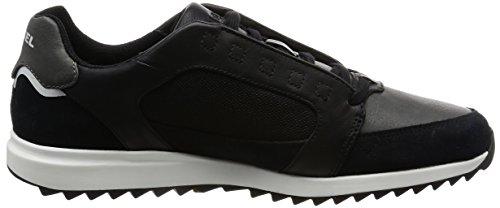 Diesel Uomo V-staffetta S-fleett Fashion Sneaker Nero / Castlerock