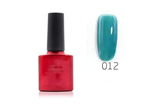 Junson Elegante 10 ML Cambio de Temperatura Esmalte de uñas Capa Superior extraíble Estampado pulimentos (004) para Mujeres...