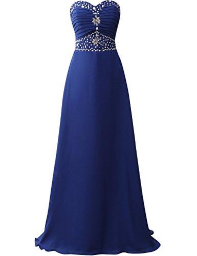 JAEDEN - Robe - Femme -  Bleu - X-Large