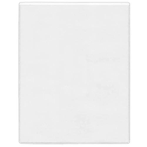 StoreSMART Letter-Size Pockets - Peel & Stick Open on The Short Side - 10 Pack - 8 1/2