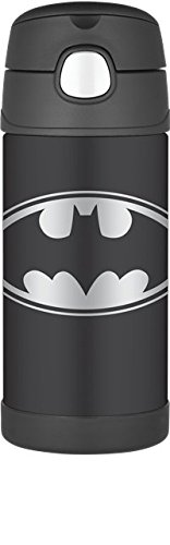 Thermos Funtainer 12 Ounce Bottle, Batman (Thermos Insulated Cup)