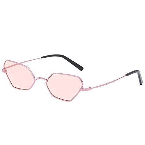 (Fashion Glasses, Beautyfine Man Women Irregular Shape Sunglasses Vintage Retro)