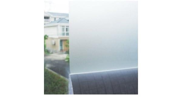 Vinilo acido arenado traslucido color super claro, para cristal, mampara, ventana, etc. Medida: 50x120cm: Amazon.es: Hogar