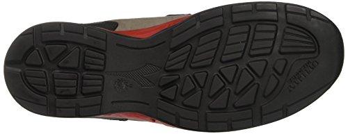 Diadora Energy Boost 3, Zapatos para Correr para Hombre, Blanco (Grigio/Rosso), 47 EU