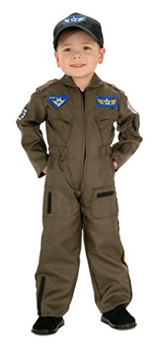 [Air Force Pilot Halloween Costume (1214)] (Pilot Costume Boy)