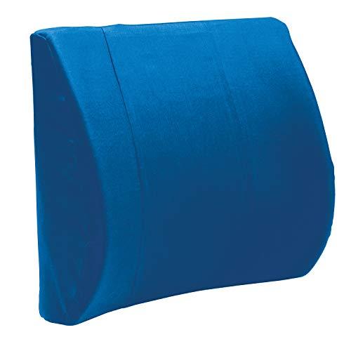 Carex Contour Pillow Office Chair Back Support - Lumbar Support Pillow - Back Cushion, Lower Back Pillow and Desk Chair Back Support