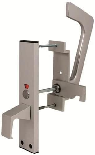 Cierre de puerta deslizante con indicador para ba/ño de discapacitados