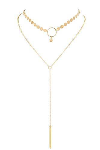 Boosic Choker Lariat Necklace Chains