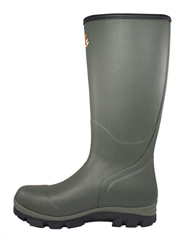 Raa Botas de goma natural Hunting Zip