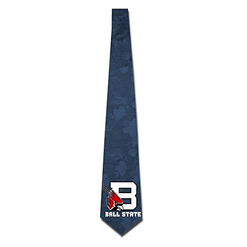 State University Necktie - ONESEDA Men's Ball State University Tie Necktie Ties