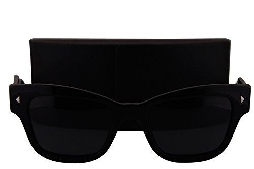Prada PR29RS Sunglasses Shiny Black w/Gray Gradient Lens 1AB1A1 - Beckham Buy Sunglasses Victoria