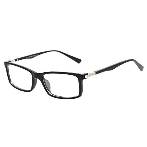 Black Frame Glasses Without Prescription : Jimmy Orange Round Metal Frame Glasses Non-Prescription ...