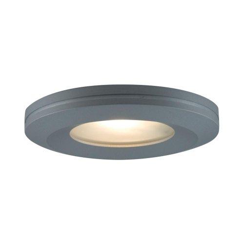(JESCO Lighting PK504SG Beveled-edged Slim Disk with Frosted Glass Lens)