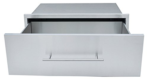 SUNSTONE DE-MD30 Designer Series Raised Style Height Single Drawer, 30