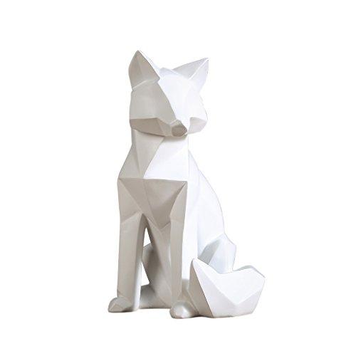 (QARYYQ Nordic Minimalist Home Creative Fox Living Room TV Cabinet Wine Cabinet Ornaments Crafts)