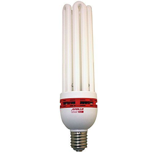 Apollo Horticulture 125 Watt CFL Compact Fluorescent Grow Light Bulb...