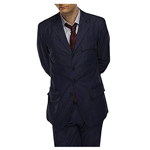 Amazon.com: décimo Doctor Who David Tennant traje azul: Clothing