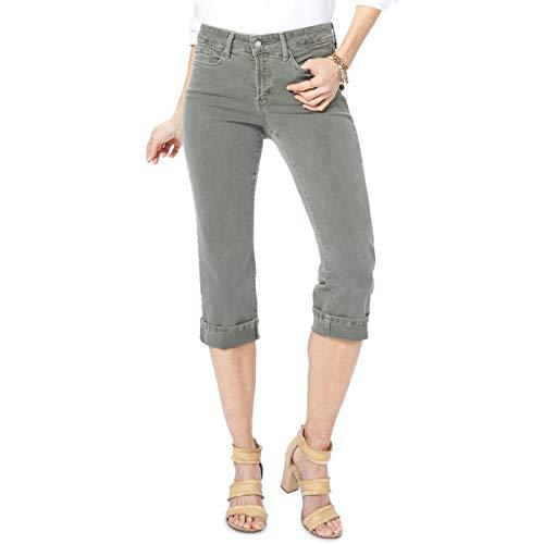 (NYDJ Women's Marilyn Crop Cuff Jeans, Topiary, 6)