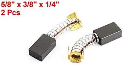 1.6 perceuse /électrique du moteur 15 X 9 X 6 mm 2 Pcs 4cm 8//5 x 3//8 x 1//4 balais de charbon W-NUANJUN-SPRING Taille : 15mm