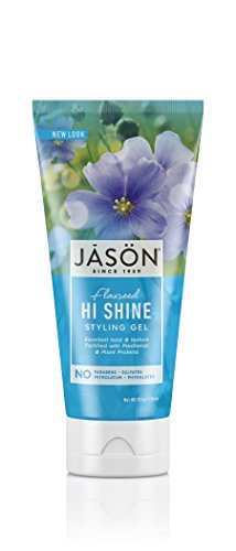 JASON Hi-Shine Styling Gel, 6 oz. (Packaging May Vary) (Natural Jason Hair Products)