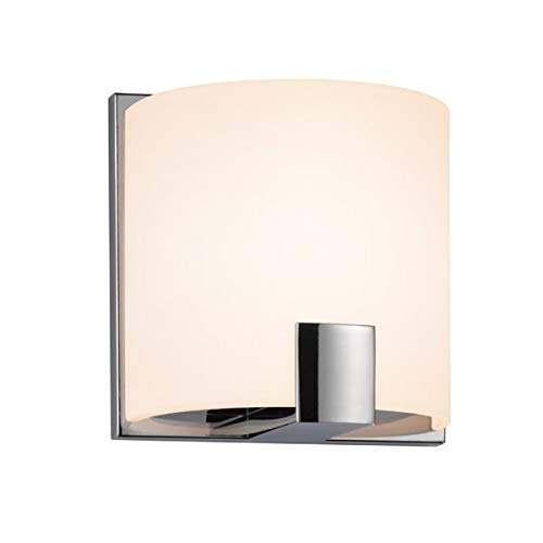 Sonneman Lighting C-Shell Polished Chrome Wall Sconce