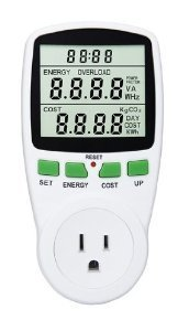 Ensupra Electricity Usage Monitor, Power Meter, Reduce Your Energy Costs