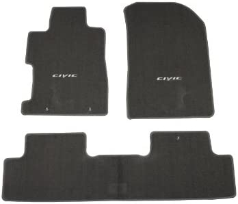 GENUINE HONDA CIVIC 5 DOOR CARPET MAT SET IN BLACK 2006-2007