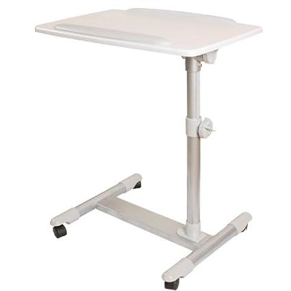 SoBuy® mesa auxiliar con ruedas, mesas de centro, mesas para portatiles, mesitas