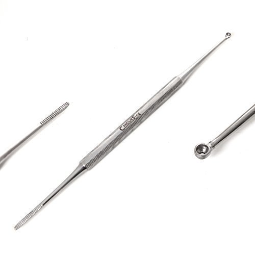CANDURE® - 'Special offer' Satin Edge Ingrown Toenail File And Cleaner. Podiatry Chiropody Instruments CE Marked. Great Price for Limited Time Only!