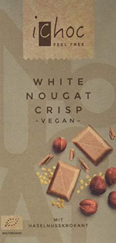 Vivani White Nougat Crisp-Rice Chocung (1 x 80 g)