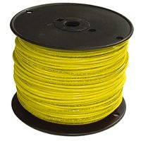 Southwire Company 12yel-strx500 Thhn Stranded Single Wire 12ga 500' Roll - Yellow.