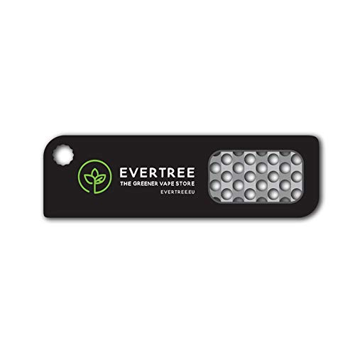 Authentic G Pen Elite Vaporizer + Evertree Grinder Card - New Design,  Grenco Science Herbal Convection Vaporiser for Ground Material, Dry Herbs