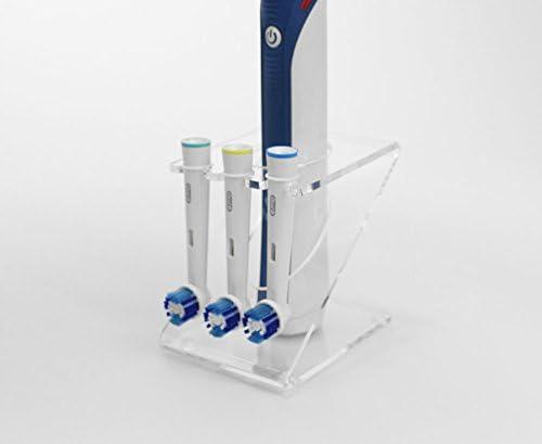 Soporte para cepillo de dientes eléctrico con 3 cabezales: Amazon ...