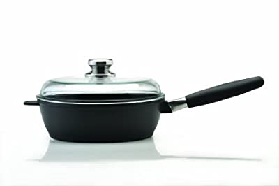BergHOFF Scala 3.4-Quart 10-Inch Covered Deep Skillet