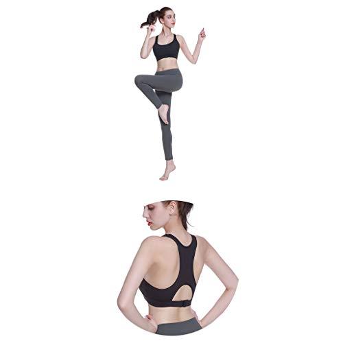 Mujeres Rapido En 3 Secado Para Mujer Forma Deportivo De Sujetador Impactos Las Absorción Negro La Sets Actividad Sostén Ixw6qSnR