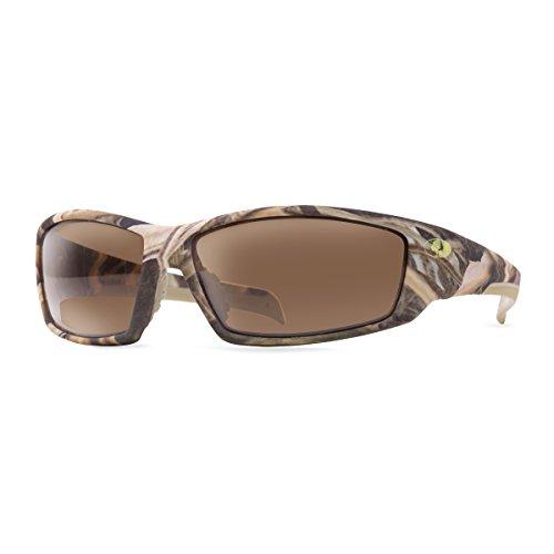 - Mossy Oak Trapline Sunglasses | Shadow Grass Blades | Polar Brown