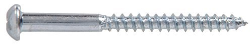 The Hillman Group 21005 1 1 1 2 x 5//8-Inch Round Head Phillips Wood Screw 100-Pack