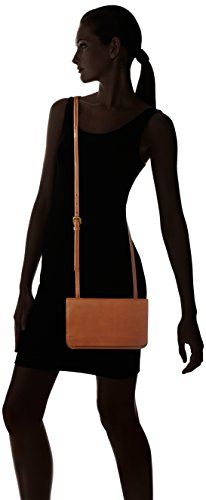 Marc O'Polo Fiftyfour - Bolsos bandolera Mujer Marrón (Cognac)