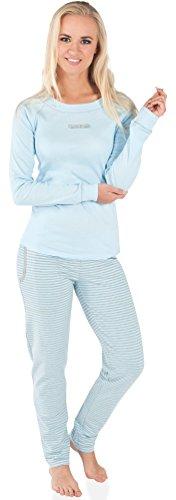 Italian Fashion IF Pijamas para mujer Sali 0223 Azul