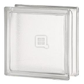 Seves Glass Block 8 x 8 x 4 Artic Glass Block