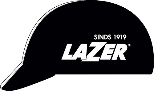 Lazer Cycling Cap: Black With White Line ()