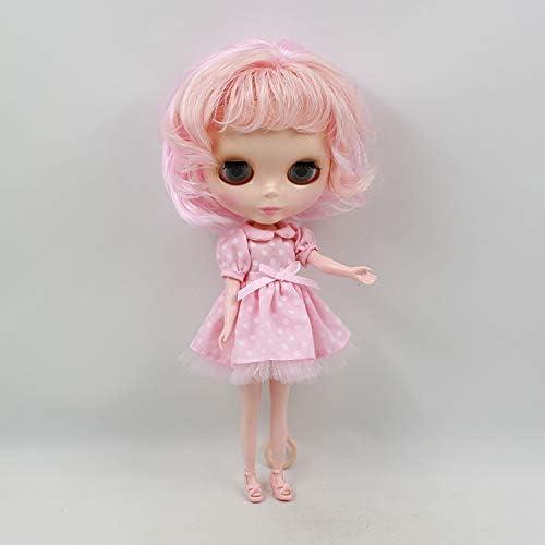 DORA⊕BRS氷工場ブライスヌード人形シリーズ No.110BL10172352 ピンク混合前髪と適切なための Diy の変更玩具ネオ