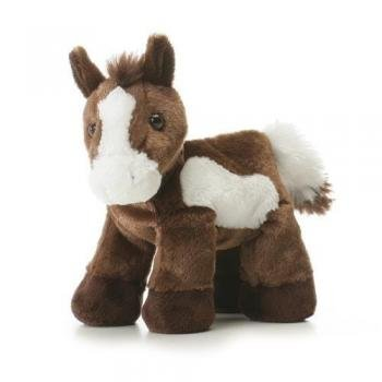 "Aurora Plush Paint Horse Mini Flopsie 8"""