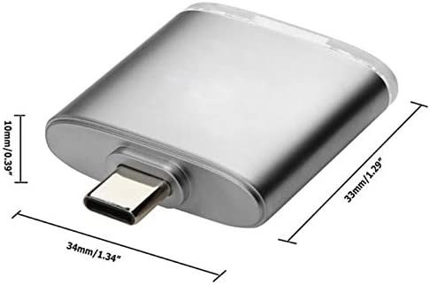 YOUKITTY New Type C 2-in-1 Card Reader Type C OTG Card Reader Sd//Tf Card Reader
